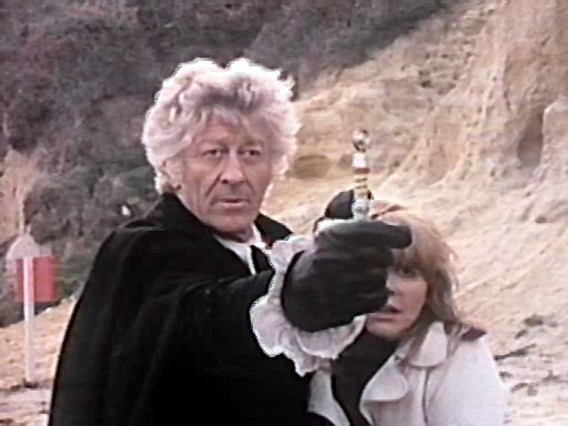Destornillador sónico mk II en Doctor Who The Sea Devils (Los Demonios del Mar)