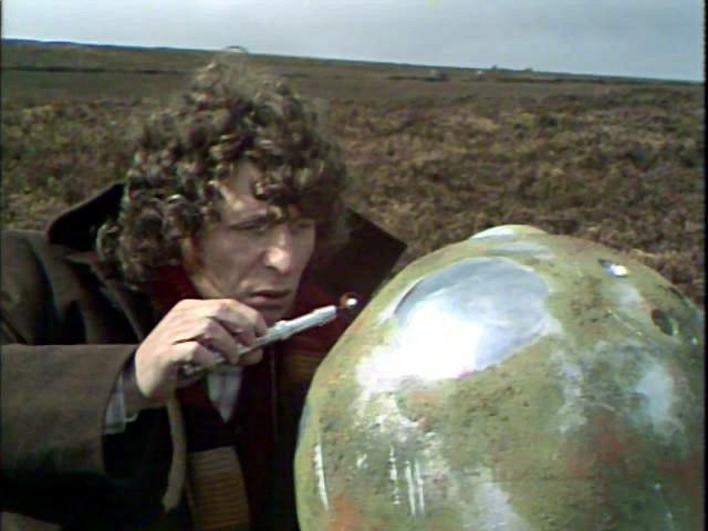 Destornillador sónico mk III en Doctor Who The Sontaran Stratagem (La Estratagema Sontaran)