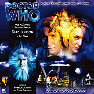 Carátula de Dead London una de las historias del Octavo Doctor de Big Finish