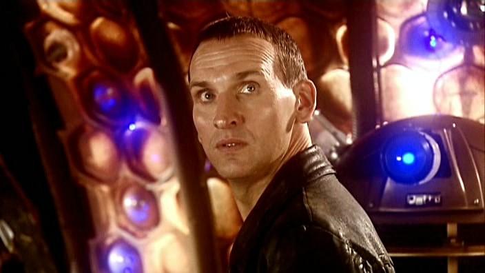 El Doctor descubre al emperador Dalek