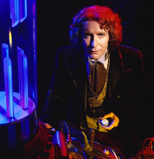Actor Paul McGann Dressed as Dr. Who # 8
