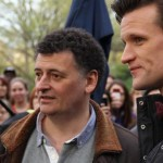 Steven-moffat-Matt-Smith-Nueva-York