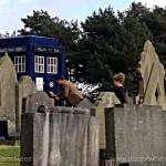doctor-who-rodaje-t7-ep5-el-doctor-y-river-en el cementerio