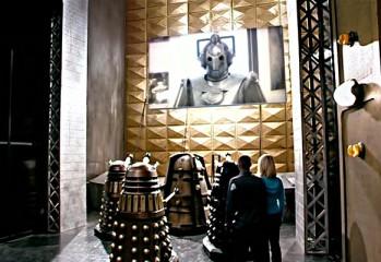 Doomsday (El Día del Juicio Final) Encuentro de los Daleks del Culto de Skaro con el Ciberlider