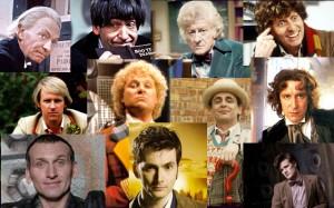 Todas las encarnaciones del Doctor