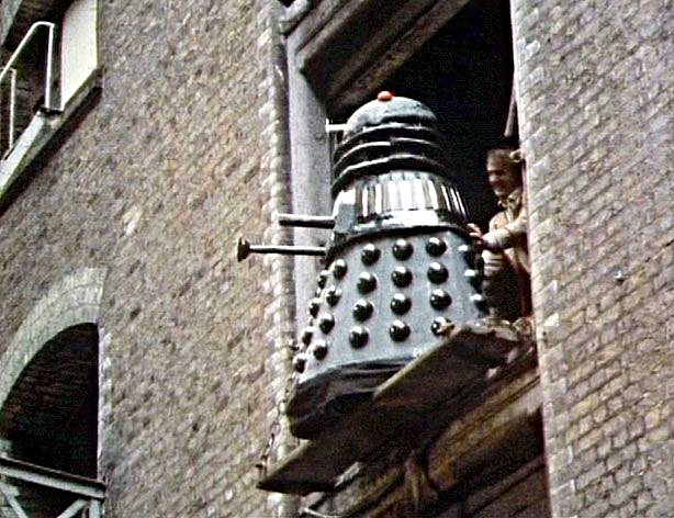 dron Dalek en Resurrection of the Daleks (La Resurrección de los Daleks)