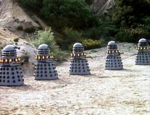 drones Dalek Mark III en Destiny of the Daleks (El Destino de los Daleks)