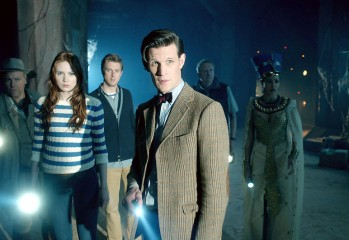 Foto promocional Doctor Who Dinosaurs on a spaceship