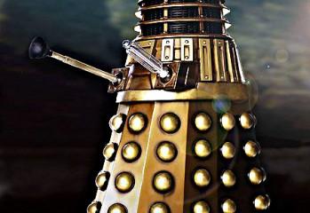 el rediseño del dron dalek en la nueva serie de Doctor Who