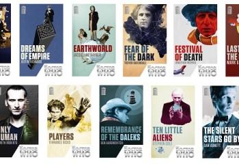 Colección BBC Books para el 50 aniversario de Doctor Who