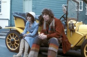 foto promocional de Robot el primer serial del Cuarto Doctor
