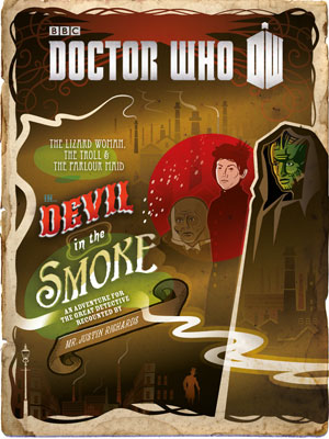 Portada del libro Doctor Who Devil in the Smoke