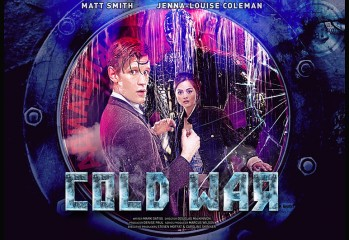 Poster promocional Doctor Who Cold War