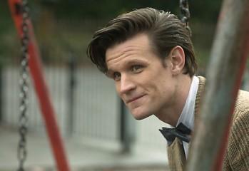 Matt Smith como el Undécimo Doctor
