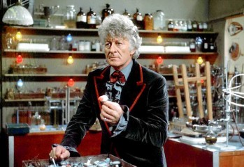 Tercer Doctor Jon Pertwee