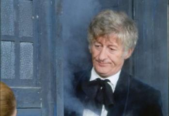 El Tercer Doctor en Spearhead From Space (La Incursión desde el Espacio)