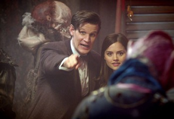 Foto promocional doctor who The Rings of Akhaten