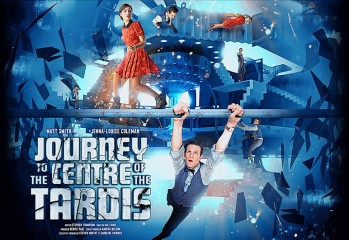 Poster promocional Journet to the Centre of the TARDIS
