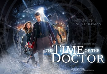 poster promocional doctor who - the time of the doctor 3
