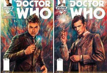 doctor-who-primeras portadas-titan comics- Undécimo décimo-doctor