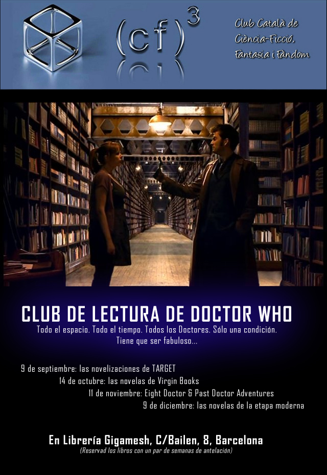 club lectura doctor who gigamesh cf3