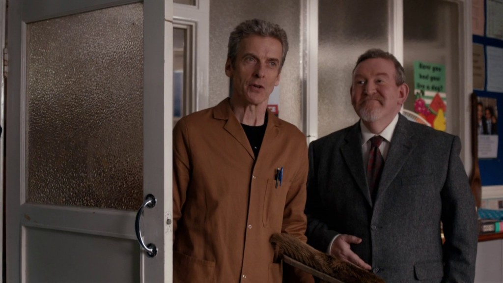 doctor who -caretaker