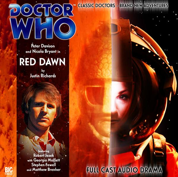 Doctor Who Red Dawn cover alternativo