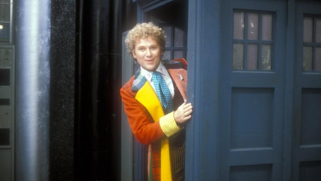 Colin Baker como el Sexto Doctor