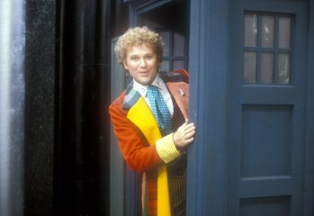 Picture shows; Colin Baker as The Doctor