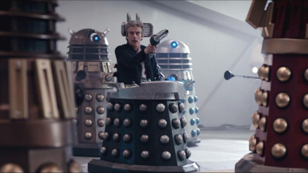 Doctor Who - Witch's Familiar - Doctor en la silla de Davros