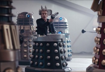 Doctor Who - Witch's Familiar - Doctor en la silla de Davros